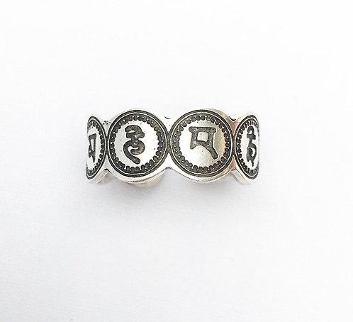 8 Auspicious Symbols Ring