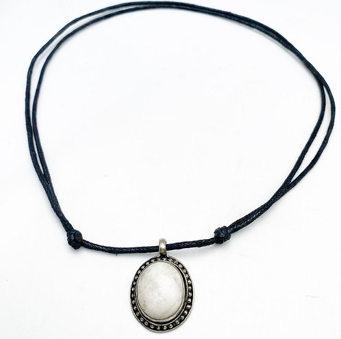 Magnesite Pendant Necklace