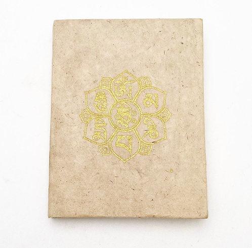Natural Auspicious Symbol Notebook