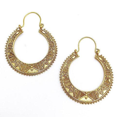 Aguada Brass Earrings