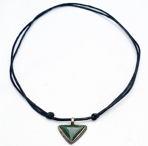 Verdite Pendant Necklace