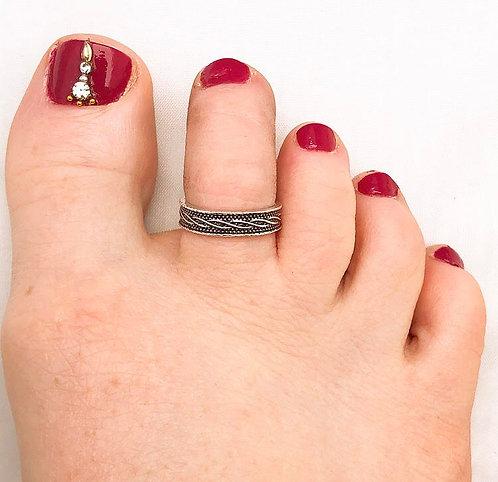 Twine Toe Ring