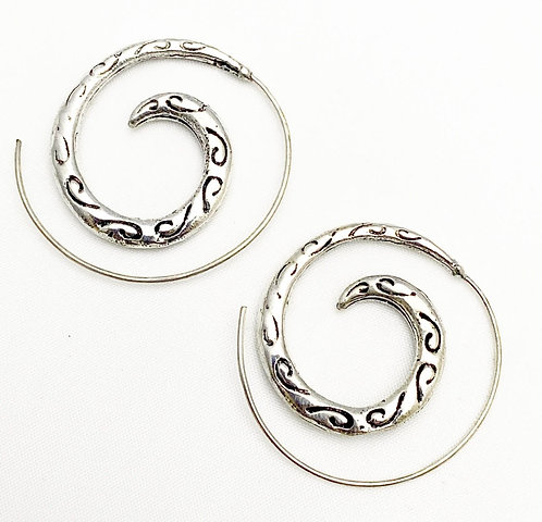 Chapora Silver Earrings
