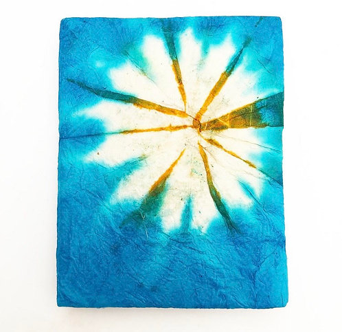 Blue Tie Dye Pocket Notebook