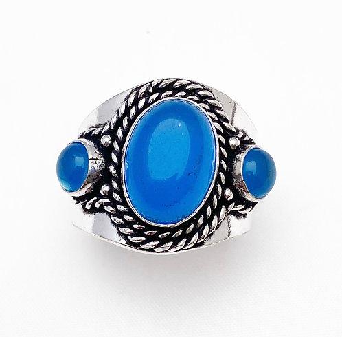 Chalcedony Chattaan Ring