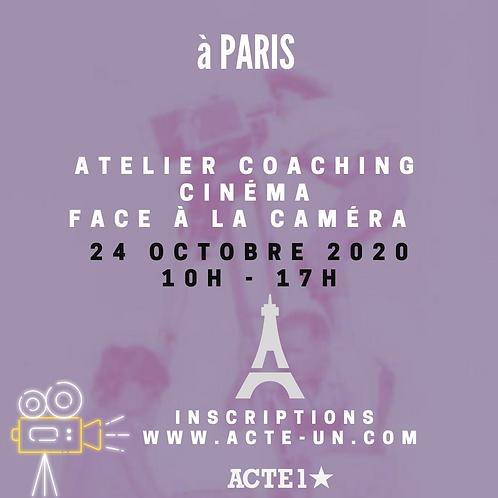 ATELIER CINÉMA - 24 OCTOBRE 2020