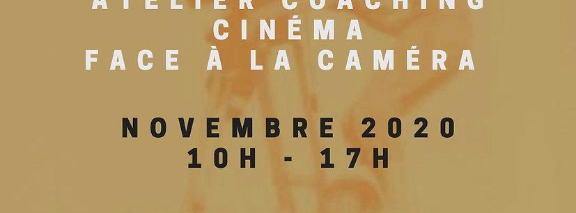ATELIER CINÉMA - 7 NOVEMBRE 2020