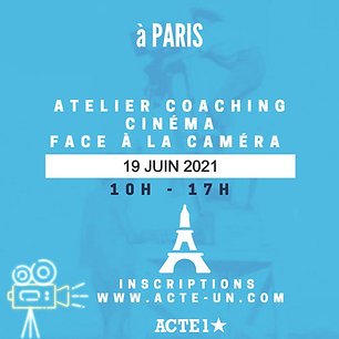 COACHING CINEMA -19 JUIN 2021