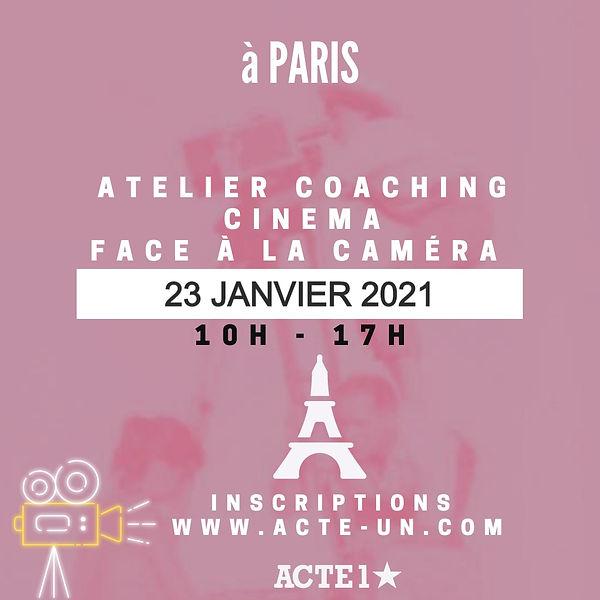 COACHING CNEMA PARIS