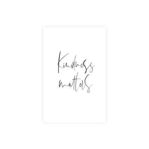 kindness matters kartīte