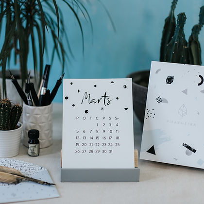 PIPARMETRA kalendars