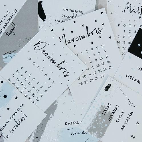 iedvesmas galda kalendārs
