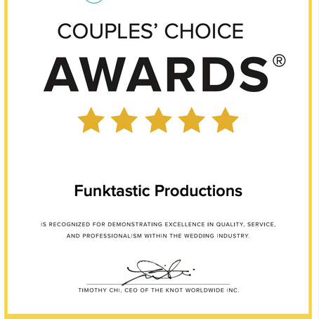 We Won the Couple's Choice Award 2021!