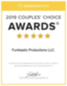 WOW! We won the 2019 Couples Choice Awar