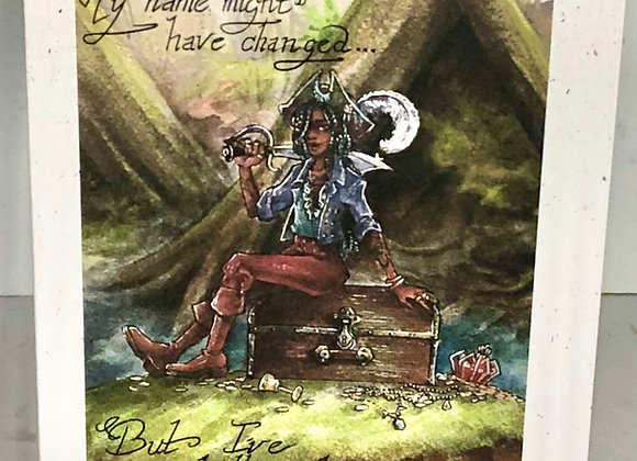 """""""Pirate's Booty"""" Greeting Card"""