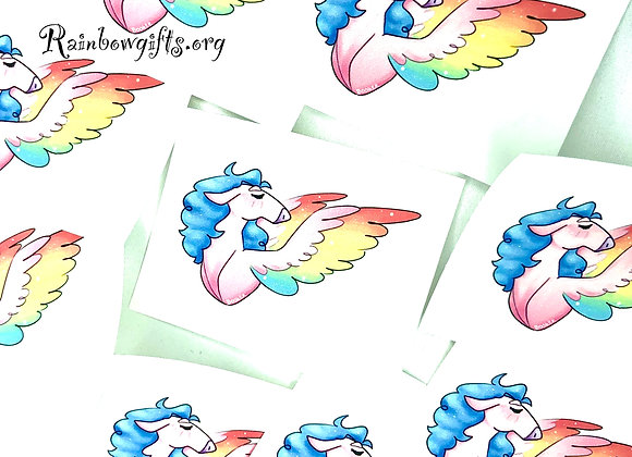 Pride Horsies Sticker Collection