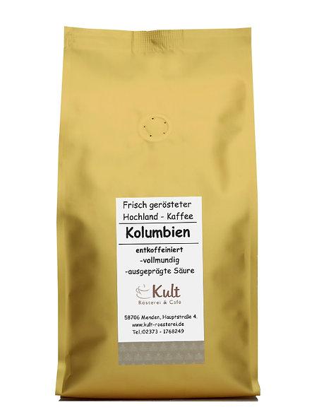 Kolumbien entkoffeiniert