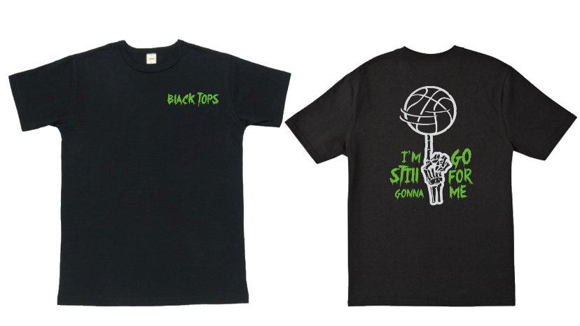 BLACK TOPS T-SHIRT