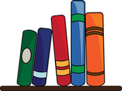 clipart_illustration_of_a_books_lining_a