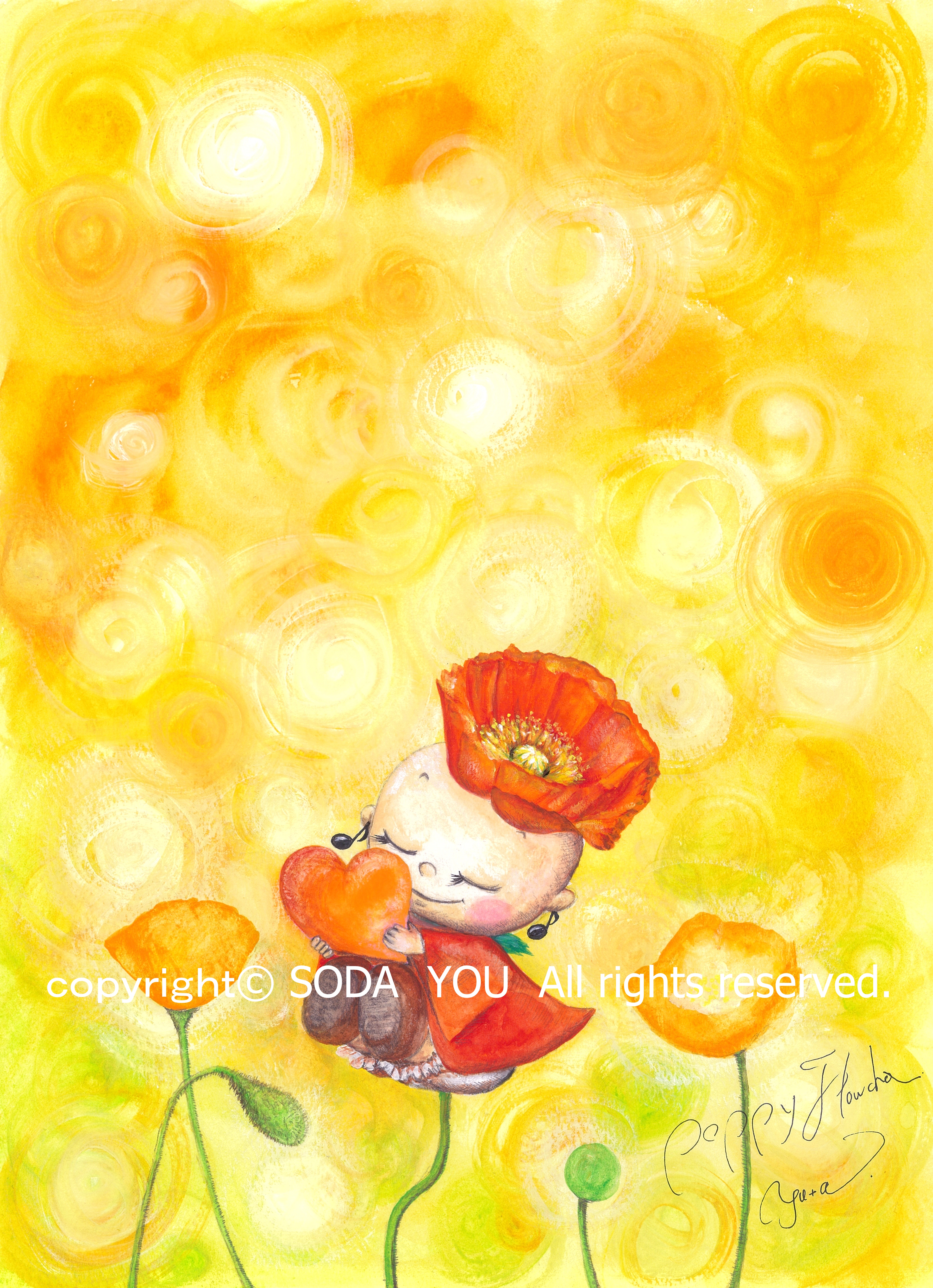 「 Poppy flowcha 」2012年 ポピーふらちゃ