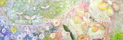 「 平和愛 」2011年 油彩