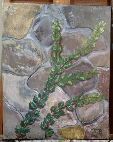 16x20; acrylic on canvas; for sale