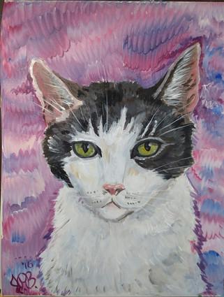 9x12; acrylic on canvas