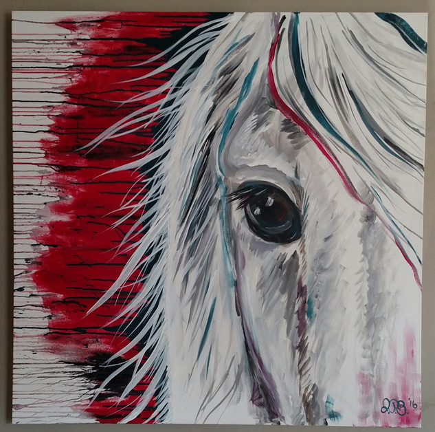 36x36; acrylic on canvas; for sale