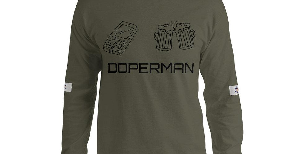Doperman Men's Long Sleeve Shirt