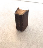 History Of Bible 1820 Spine Standing Out