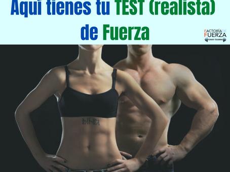 ¿ERES FUERTE?..:TU TEST (REALISTA) DE FUERZA