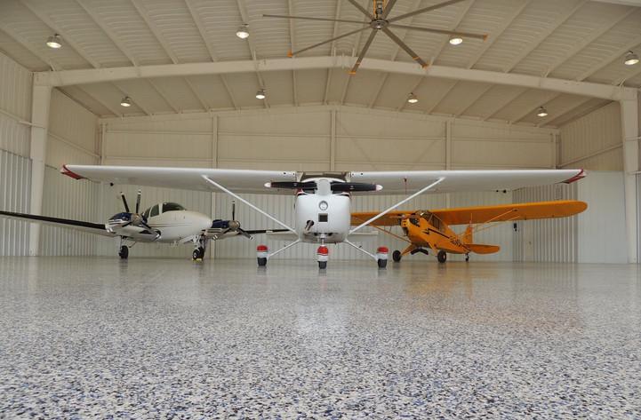 Granitex - Airplane Hangar