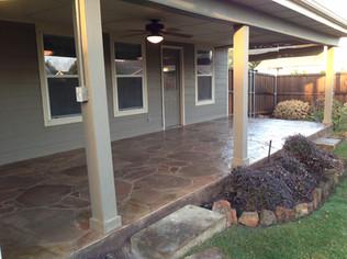 Arizona Flagstone Stamped Concrete