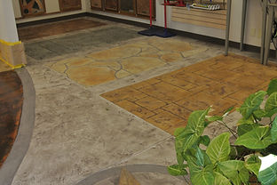 Stamped Concrete Overlay (Carrollton Store)