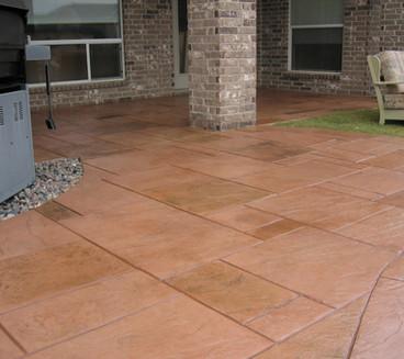 Ashlar Stamped Concrete