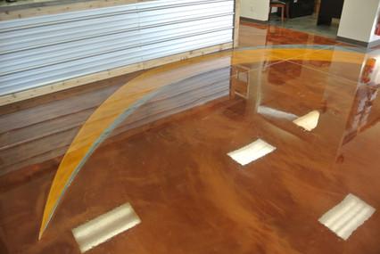 Metallic Epoxy Floor