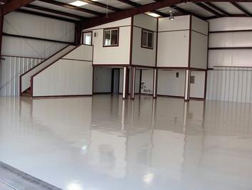 Epoxy & Polyurethane Floor Coating