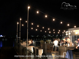 Chicago Charles - Festoon Lighting Hire