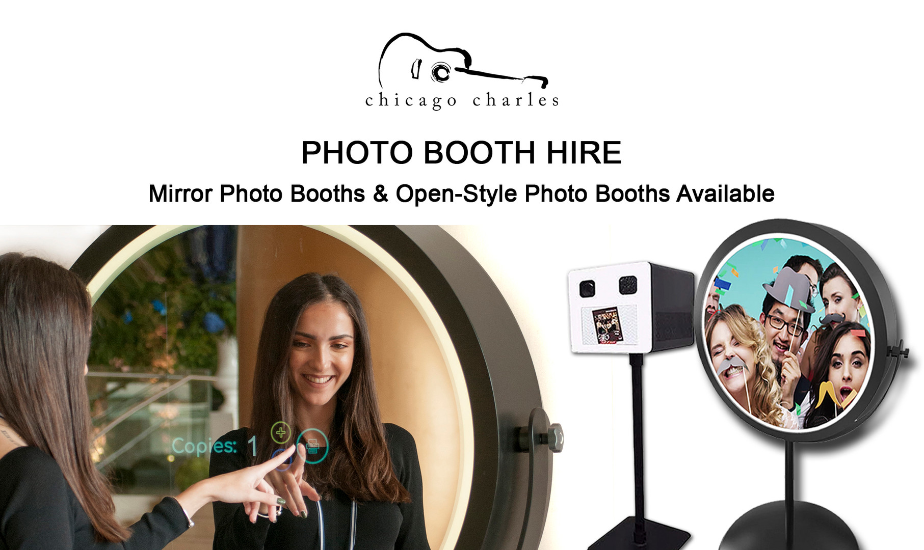Chicago Charles - Photo Booth Hire