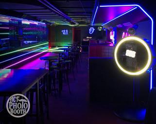 Mirror Booth - Night Club Setup