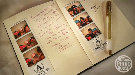 ACT Photo Booth - Guest Book Album