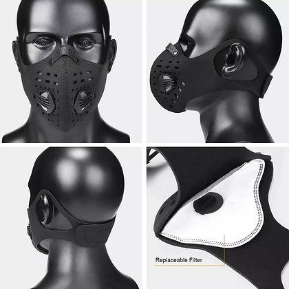 Neoprene face dust mask carbon N95 Pollution