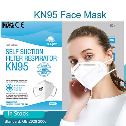 KN95 Self Suction Filter Respirator (10 pack)