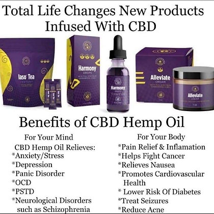 CBD INFUSED PRODUCTS (Bundle)