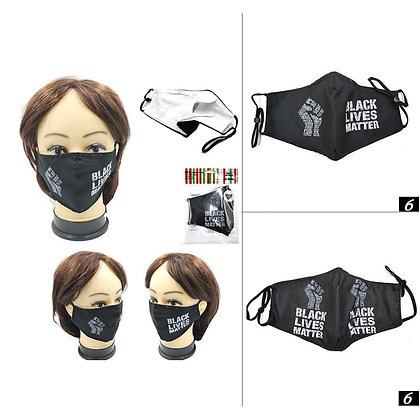Blck Lives Matter Mask