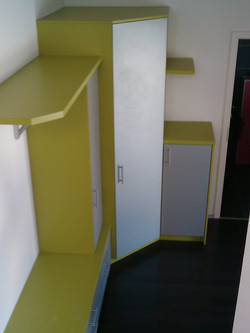 Garderobe Eingang