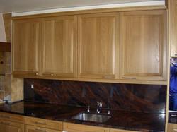 Holzschränke Küche