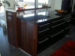 Holz Designerküche