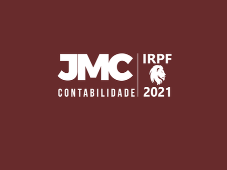 NOVIDADE IRPF 2021. VOCÊ SABIA?