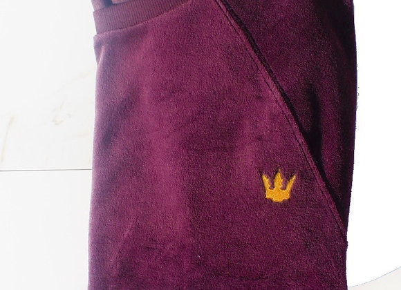Velour Sweater - Purple